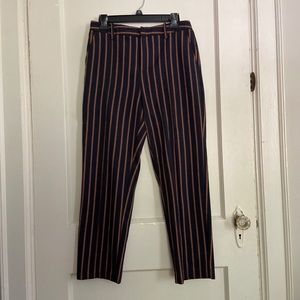 Urban Outfitters High Rise Striped Trousers